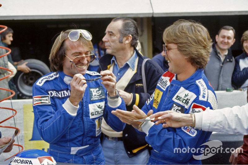 Jacques Laffite en Keke Rosberg, Williams