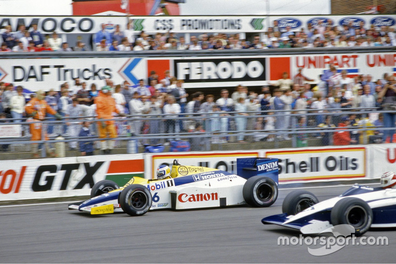 Keke Rosberg, Williams and Nelson Piquet, Brabham
