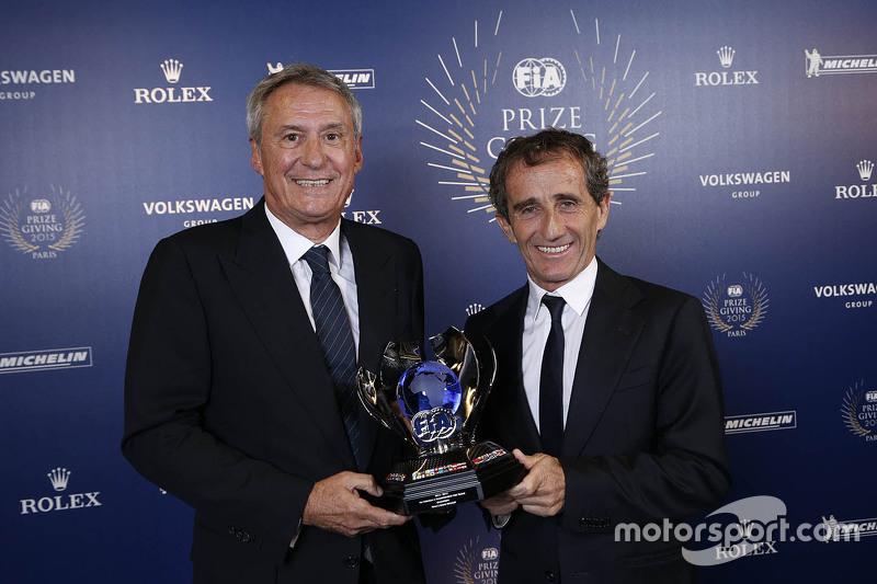 Alain Prost und Jean-Paul Driot