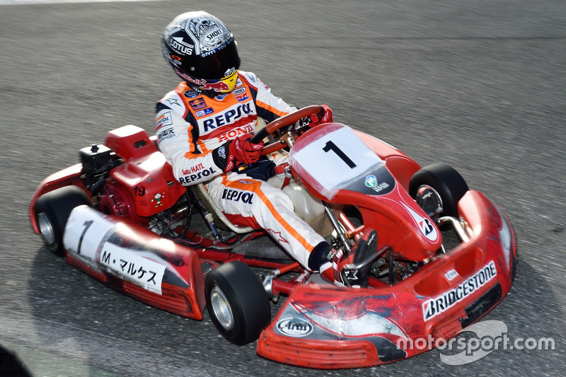 Marc Marquez im Kart