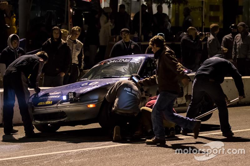 #60 A+ Racing Old Timers Mazda Miata: Dion Johnson, Richard Lucquet, David Gehringer, Doug Clark, Sc