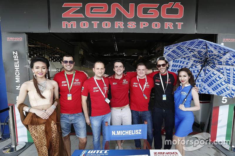 Норберт Міцеліс, Zengo Motorsport з грід гелs