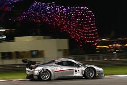 السيارة رقم 51 إيه إف كورسي فيراري 458 إيطاليا: أندريا ريزولي، فرانشيسكو كاستيلاشي، توماس فلوهر