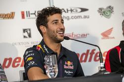 Daniel Ricciardo lors de la conférence de presse