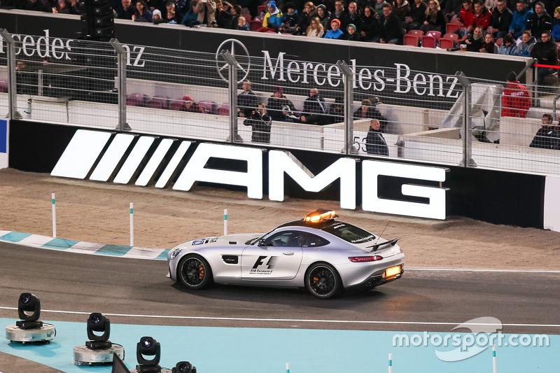 Bernd Maylander in the F1 safety car