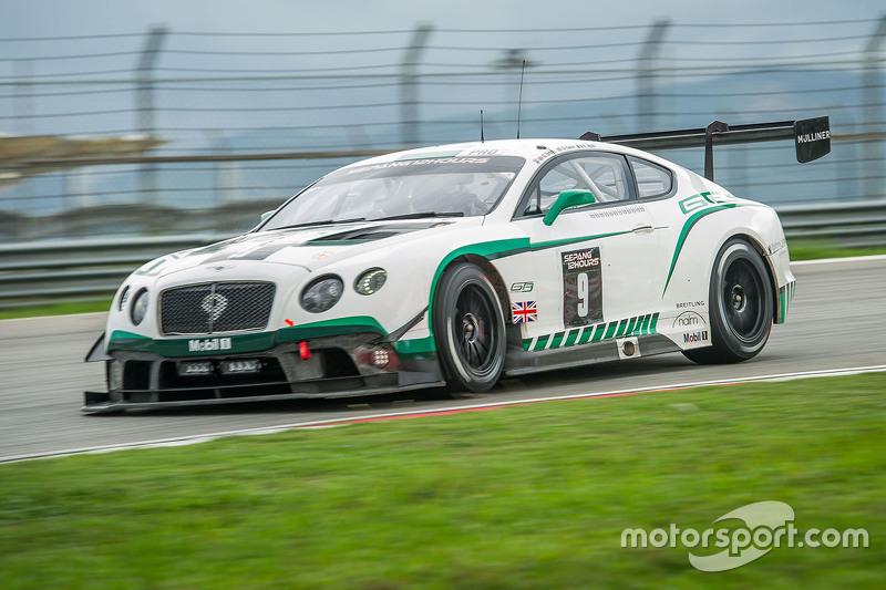 #9 Bentley Team M-Sport Bentley Continental GT3: Guy Smith, Вінсент Апріл, Steven Kane