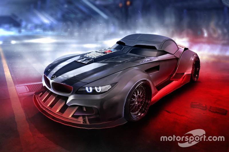 Darth Vader BMW Z4