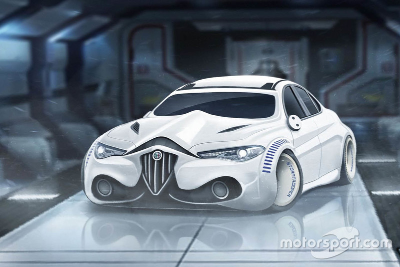 #6: Alfa Romeo Giulia, Stormtrooper-Version