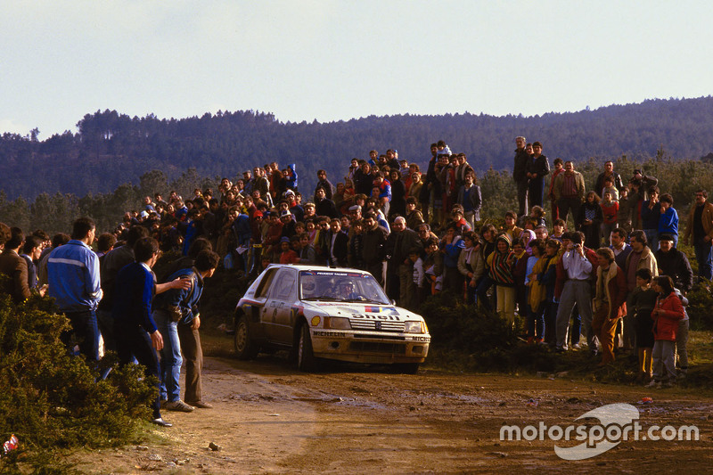 Timo Salonen et Seppo Harjanne, Peugeot 205 T16