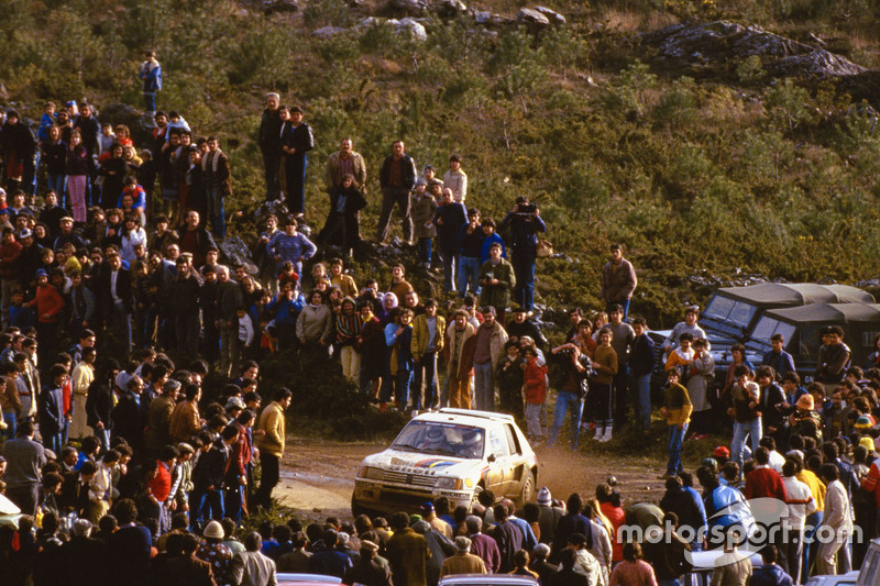 Ari Vatanen dan Terry Harryman, Peugeot 205 T16