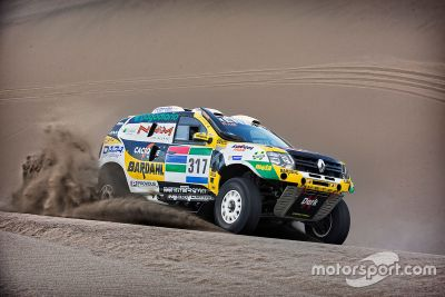 Renault Duster team presentation