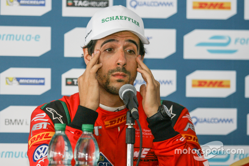 Press Conference, second place Lucas di Grassi, ABT Schaeffler Audi Sport
