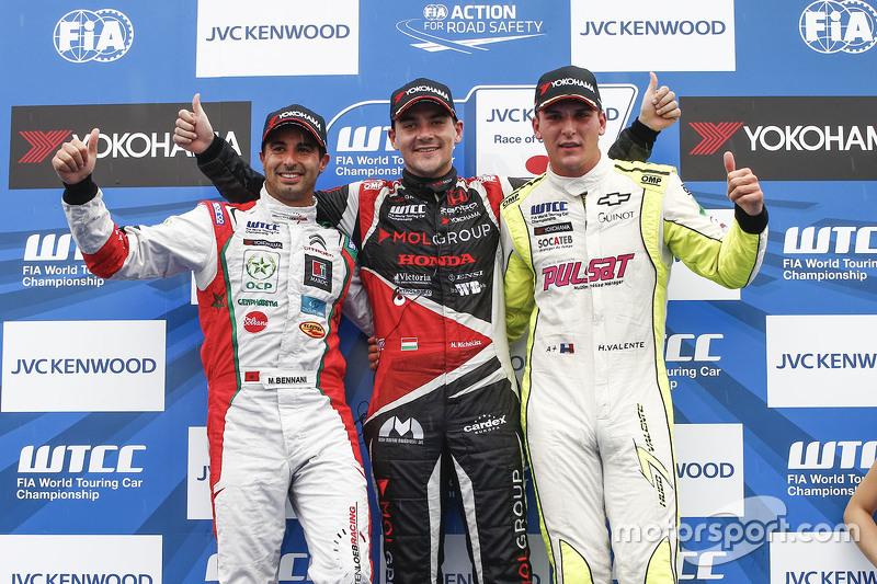 Норберт Міцеліс, Zengo Motorsport, Мехді Беннані, Себастьєн Леб Racing та Hugo Valente, Campos Racin