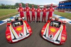 Equipe Shell que fez a dobradinha das 500 Milhas antes da prova