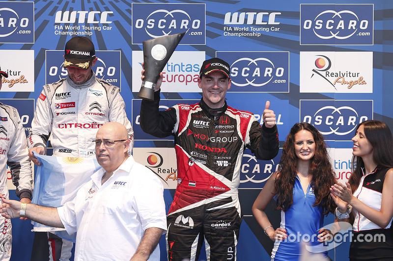 Podium: third place Norbert Michelisz, Zengo Motorsport