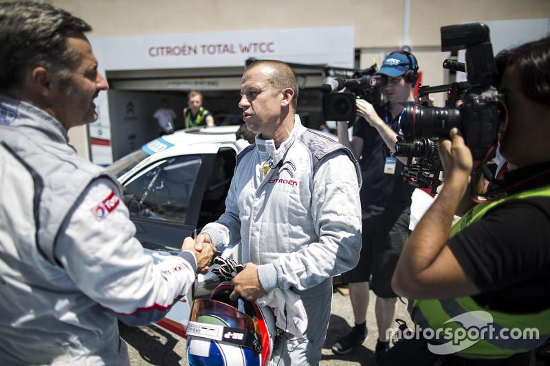 Олів'є Паніс, Citroën C-Elysee WTCC, Citroën World Touring Car team