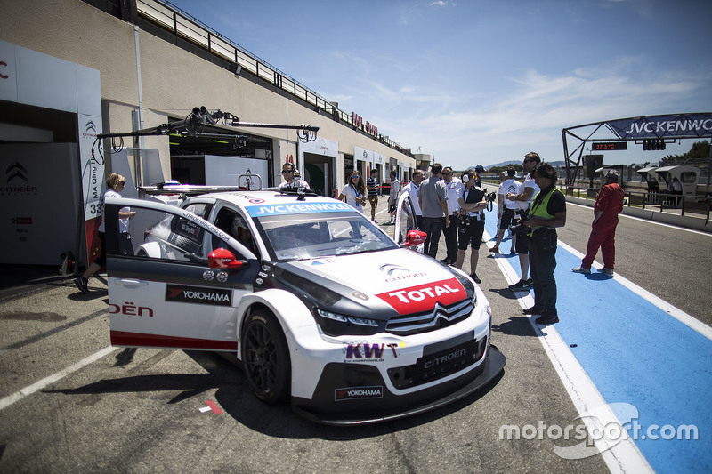 Олів'є Паніс, Citroën C-Elysee WTCC, Citroën World Touring Car team