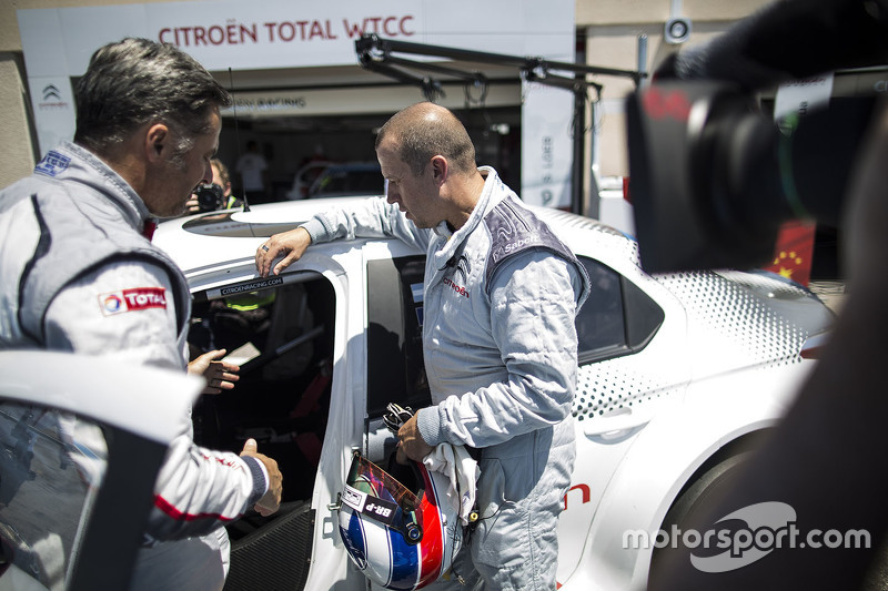 Olivier Panis, Citroën C-Elysee WTCC, Citroën World Touring Car team