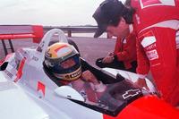 Ayrton Senna and Emerson Fittipaldi