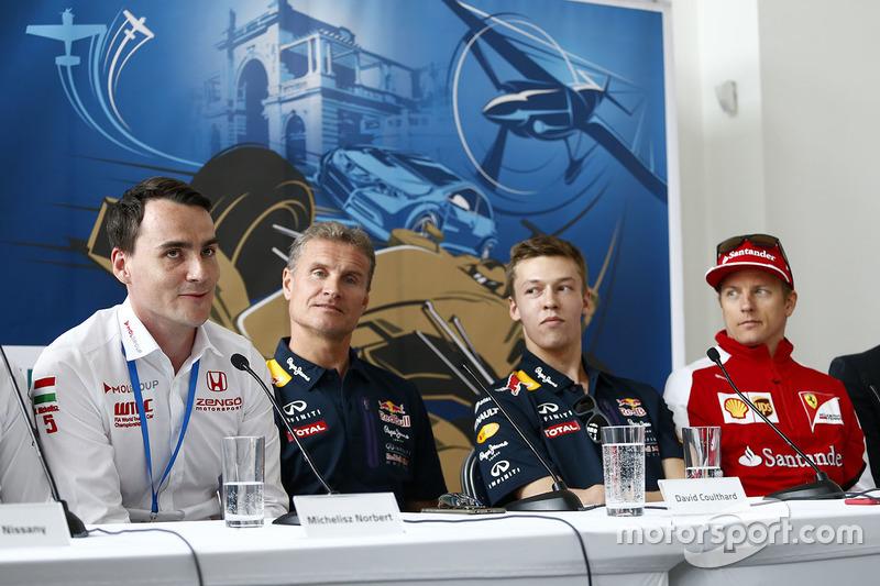 Норберт Міцеліс, Honda Civic WTCC, Zengo Motorsport, Девід Култхард,Данііл Квят, Red Bull Racing та