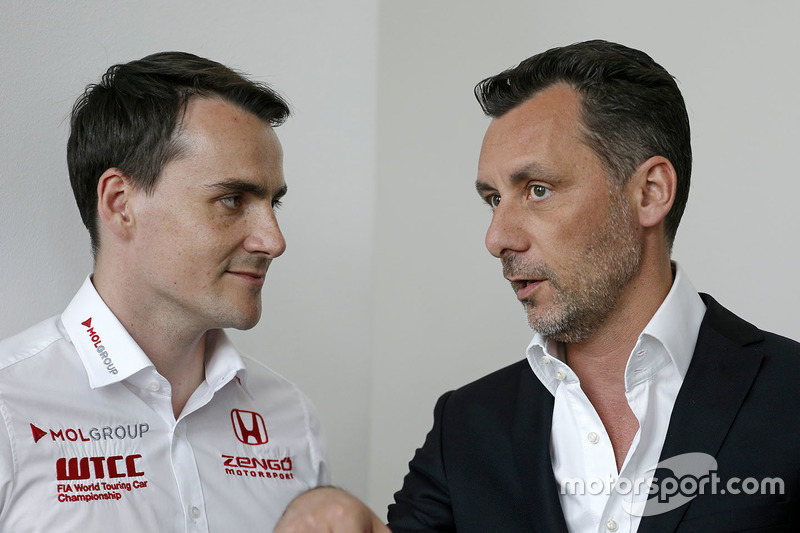 Norbert Michelisz, Honda Civic WTCC, Zengo Motorsport and François Ribeiro, Eurosport Events Motorsp