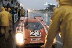 Porsche 917K #23, Porsche Salzburg Team: Hans Herrmann, Richard Atwood