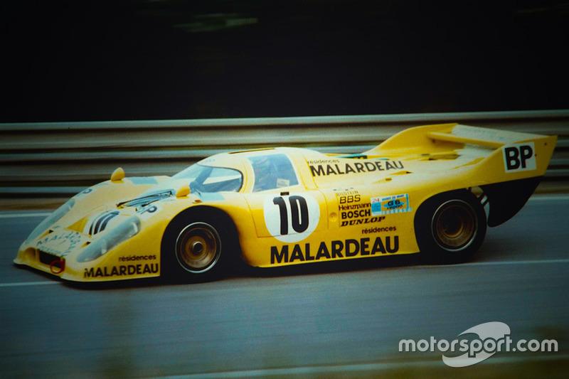 El Porsche 917K/81 #10 de Kremer Racing en 1981