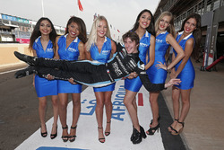 Gregoire Demoustier, Chevrolet RML Cruze TC1, Craft Bamboo with grid girls