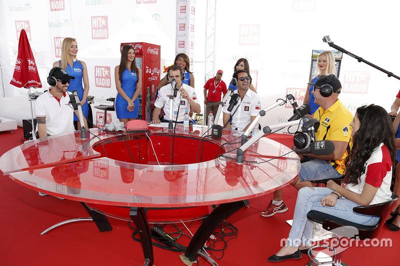 Mehdi Bennani, Citroën C-Elysee WTCC, Sébastien Loeb Racing, Rob Huff, Lada Vesta WTCC, Lada Sport Rosneft ve Tiago Monteiro, Honda Civic WTCC, Honda JAS Yarış Takımı