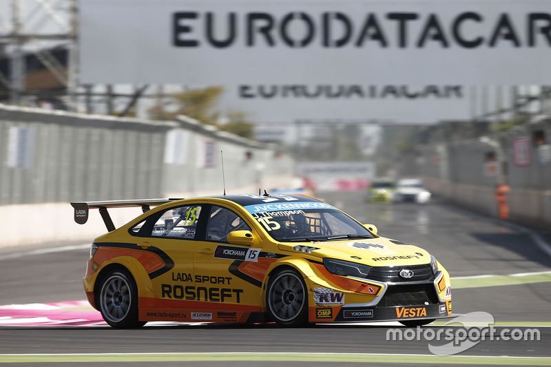 James Thompson, Lada Vesta WTCC, Lada Sport Rosneft