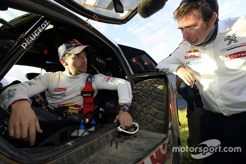#314 Peugeot: Sèbastien Loeb con Bruno Famin, jefe de Peugeot Sport