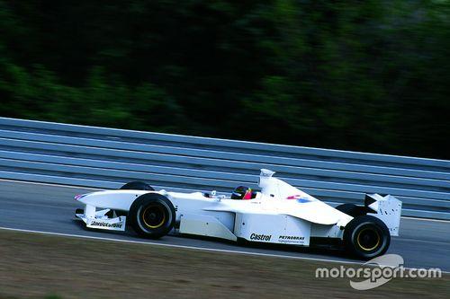 F1 BMW Pruebas Jörg Müller