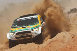 #384 Mitsubishi: Joao Antonio Franciosi, Gustavo Gugelmin