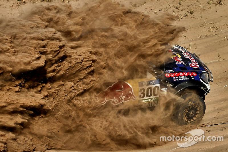 1. #300 Mini: Nasser Al-Attiyah y Matthieu Baumel