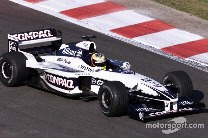2000: 威廉姆斯FW21赛车