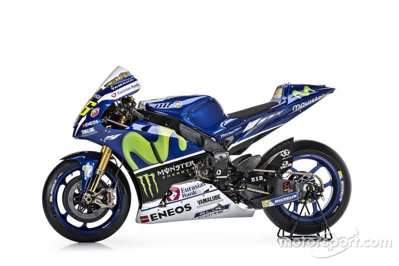 New Yamaha YZR-M1 for Valentino Rossi, Yamaha Factory Racing