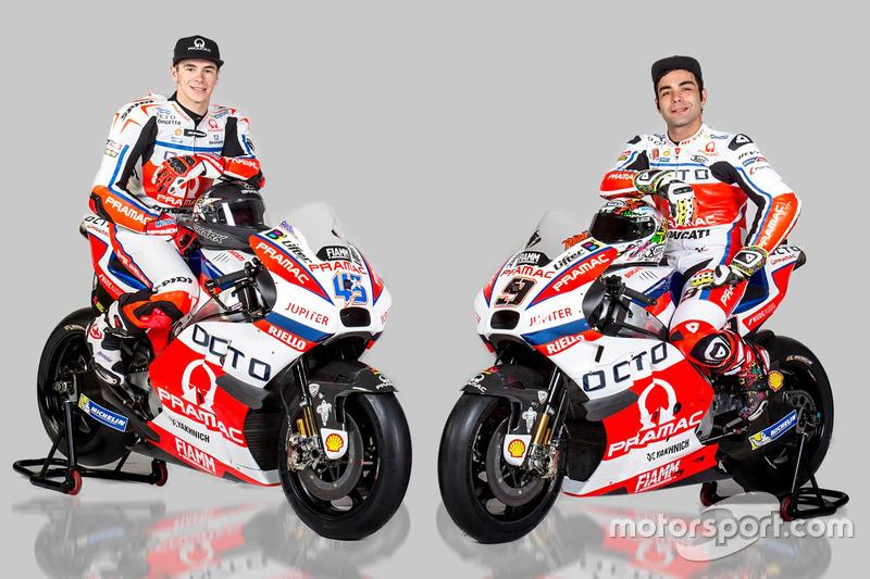 Скотт Рединг и Данило Петруччи, Pramac Yakhnich Ducati, 2016