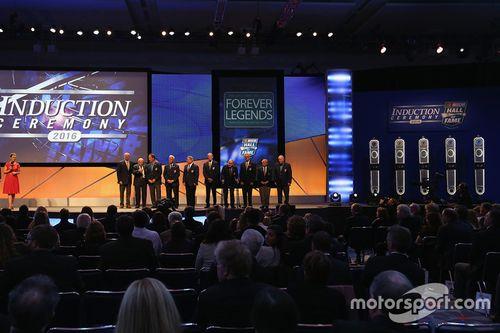 2016 NASCAR Salón de la Fama Indución