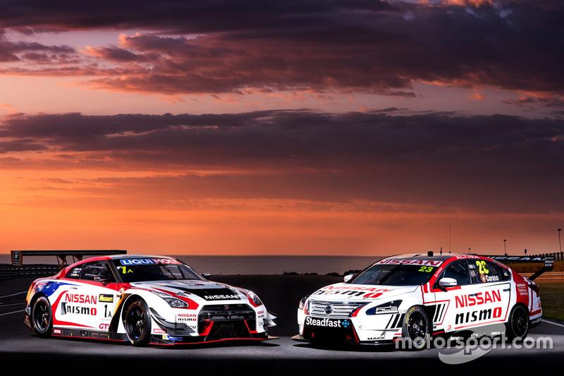5. Nissan Motorsport presentación en Phillip Island