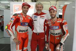 Andrea Dovizioso, Luigi Dall'Igna, Andrea Dovizioso, Ducati Team