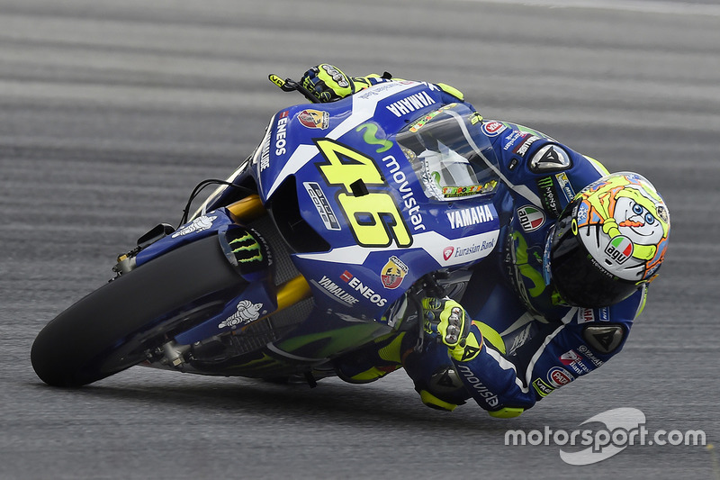 Valentino Rossi (Yamaha): Startnummer 46