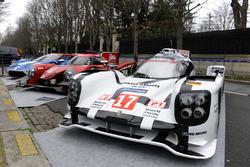 Porsche 919 Hybrid, RGR Sport by Morand LMP2, Ford GT in den Straßen von Paris