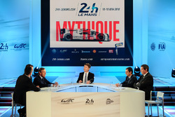 Press conference for the 24 Hours of Le Mans and WEC
