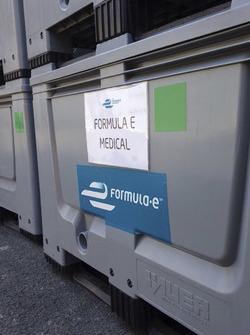 Arrivo della Formula E all'Autodromo Hermanos Rodríguez
