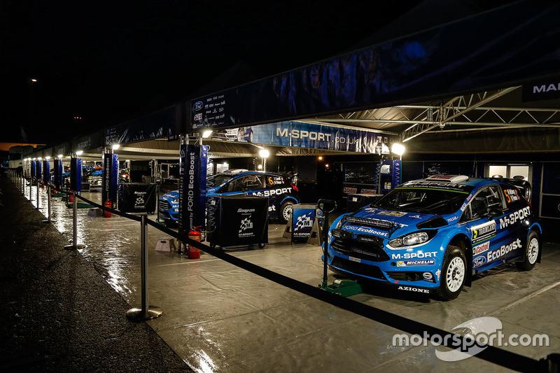 Зона M-Sport Ford team