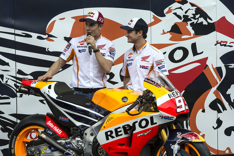 Dani Pedrosa, Repsol Honda Team e Marc Marquez, Repsol Honda Team
