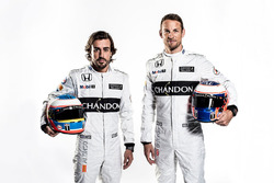 Fernando Alonso ve Jenson Button, McLaren