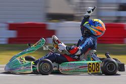 Michel Aboissa - Rotax Max Masters winner