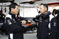 Ясухиса Араи и Юсуке Хасегава, Honda
