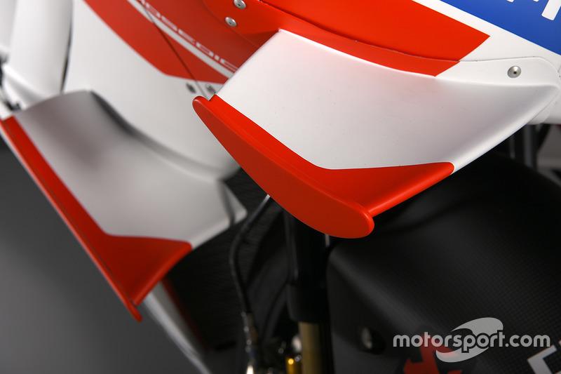 Ducati GP16, Detail